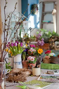 Blomsterverkstad: Från förr