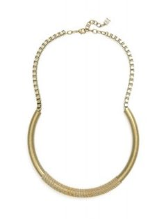 Rising Tube Necklace