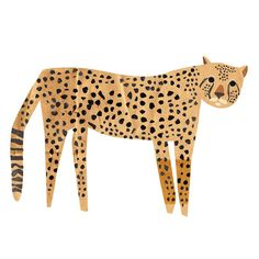loving this cheetah. Kids Prints, Art Prints, Gatos Cats, Cute Illustration, Cat Art, Art Inspo, Art For Kids, Art Projects, Drawings