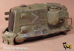 sohades: Stunning weathering and model build up on this FF Kastor.