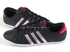 Adidas Derby Qt W Black/Metallic Silver/Craft Pink NEO Casual Sneakers