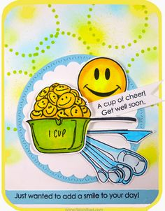 Cup of Flower - Heaps of Smiles