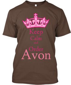 Attention Avon Representatives | Teespring order your avon products today at www.youravon.com/rmahurin