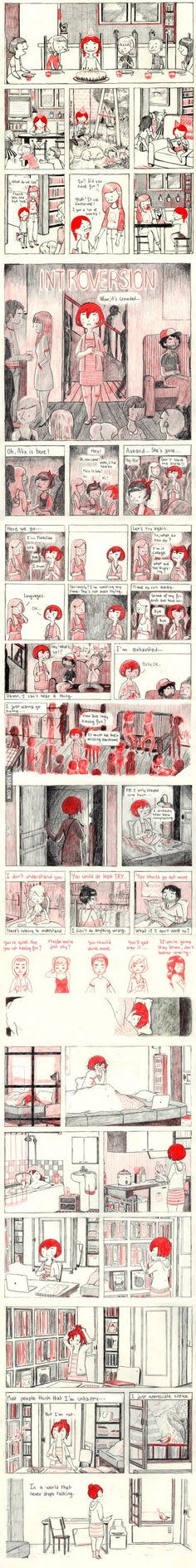 sweet little introversion comic