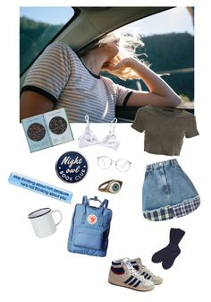 """""""Blue air"""" by mandijh ❤ liked on Polyvore featuring Natasha Zinko, Crafted, adidas, Barbour, Retrò, Fjällräven and Falcon Enamelware"""