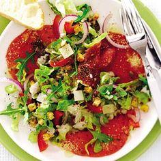 Recept - Italiaanse salade met carpaccio - Allerhande