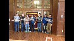 Plymouth High School Senior Melanie Cooper and Junior Zacc Hutchings won first place at the Annual Bridge Bust Competition today in West Lafayette on the campus of Purdue University. Purdue's chapter of the American Society of Civil Engineers hosted the competition for students from 14 different schools. Students brought their bridges to campus to test the bridges based on aesthetic and engineering principles. There were more than 100 bridges busted today by weight.  #PurdueCE #Purdue_ASCE