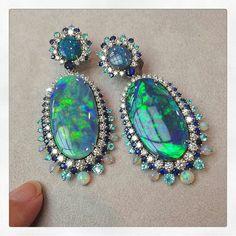Opal fruits @davidmorrisjeweller ✨#davidmorris #opals