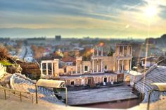 Plovdiv Roman theater by Alex S on 500px