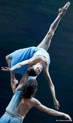 Irina Perren and Marat Shemiunov in Spring Waters