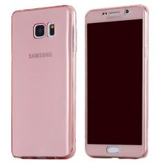 Soft TPU Full Body Protective Clear Cover For Samsung Galaxy