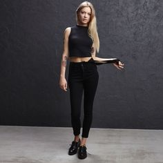 LU590-99X Skinny Fit, Overalls, Sporty, Jeans, Fitness, Style, Fashion, Swag, Moda