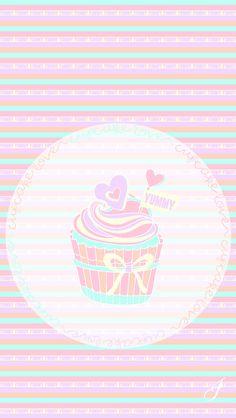 Cupcake iPhone Wallpaper