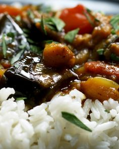 Roasted Eggplant Curry Recipe by Tasty