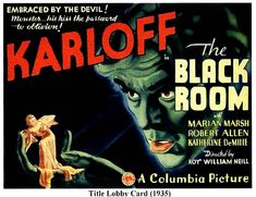 A 1930s vintage movie posters image showing THE BLACK ROOM. Description from ayay.co.uk. I searched for this on bing.com/images
