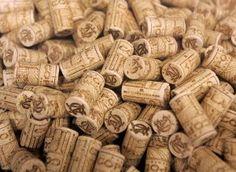 Pile Wine Corks