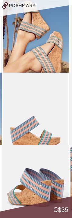 Never wore them Wedge Sandals, Wedge Shoes, Just Fab Shoes, Womens Shoes Wedges, Espadrilles, Take That, Big, Amazing, Summer