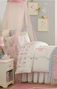 Find This Pin And More On Girls Bedrooms Girls Bedding Room Decor
