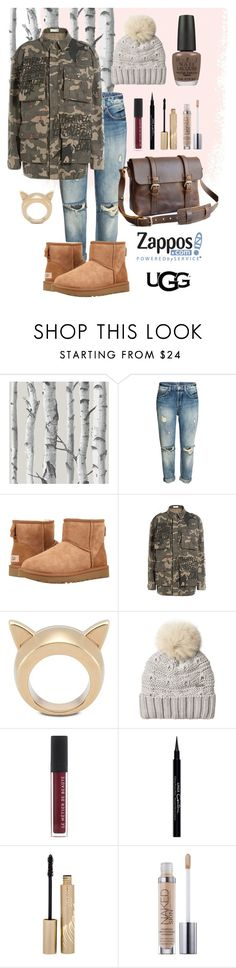 """The Icon Perfected: UGG Classic II Contest Entry"" by marlondo ❤ liked on Polyvore featuring Wall Pops!, UGG Australia, Faith Connexion, STELLA McCARTNEY, Woolrich, Givenchy, Stila, OPI, ugg and contestentry"