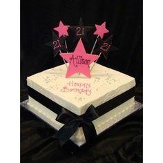 Girls - 21st Birthday Cakes - - Polyvore