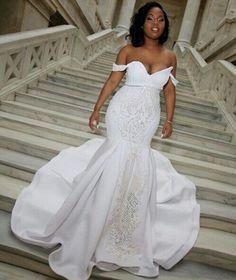 6 Beautiful Wedding Dress Trends in 2020 Stunning Wedding Dresses, Wedding Dress Trends, Dream Wedding Dresses, Bridal Dresses, Bridesmaid Dresses, Wedding Ideas, Wedding Looks, Bridal Looks, Black Bride