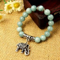PandaHall Jewelry—Handmade Gemstone Bracelets with Alloy Pendants | PandaHall Beads Jewelry Blog