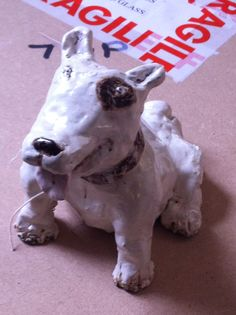 Staffy or ebt ceramic Koestler entry 2013