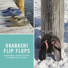 American Made Flip Flops From Okabashi via USALoveList.com