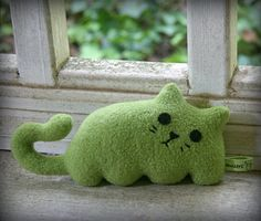 cute stuffed cat from http://www.etsy.com/shop/Musers