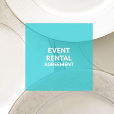 Event Rentals Template Contract; Vintage Rental Contracts