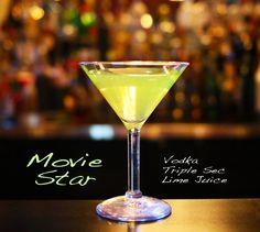 Movie Star Martini