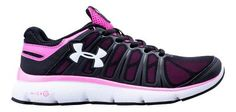 Under Armour Girls GS Micro G Pulse II Running Shoe UAW1313-BK003-3.5-M,    #UnderArmour,    #UAW1313,    #running