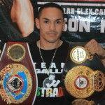 El Gallo Estrada defenderá sus títulos mundiales de box en Puerto Peñasco