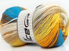 Fiber Content 100% Premium Acrylic Yelow White Orange Brand ICE Camel Brown Blue fnt2-42196