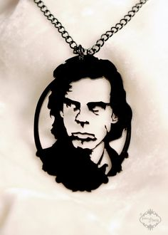Nick Cave tribute portrait. I NEEEEED IT.