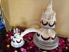 Disneyland Wedding - Bridge to Happiness Cake