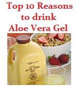 Top 10 reasons to drink aloe vera gel