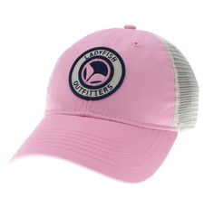 7ae619f5c26 New Light Pink relaxed twill Trucker hat. ladyfish Outfitters · fishing for  women