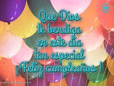 Feliz Cumpleaños en Imágenes muchos globos