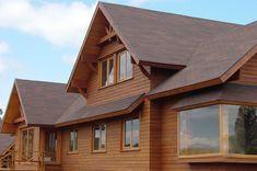 Casa T 221 | Wooden House Design, Casas Containers, Go Kart, Ideas Para, Beautiful Homes, Villa, Exterior, House Styles, Home Decor