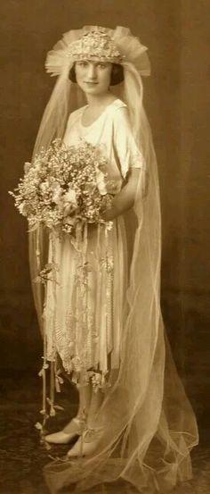 Robe mariage 1920