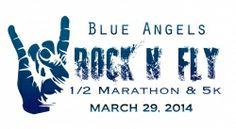 Blue Angels Rock N Fly Half Marathon & 5k registration information at GetMeRegistered.com