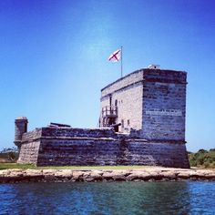 Take a boat tour to see the 18th century Spanish fort.