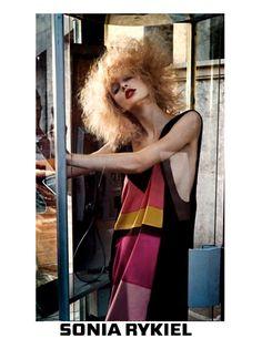 BLOND CURLY HAIR sonia rykiel campaign S S 2011photo cedric buchet styling  c b waddington model 6ca0838825b1
