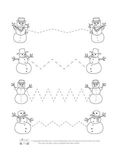 Preschool Christmas Crafts, Winter Crafts For Kids, Preschool Learning Activities, Winter Activities, Early Childhood Activities, Christmas Worksheets, Theme Noel, Winter Theme, Montessori