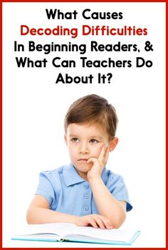 Teach Your Child To Read - Why do some students have a tough time learning how to decode? Read this post to find out why, as well as get 5 action steps that you can take to help your struggling decoders! appropriate - Teach Your Child To Read Reading Help, Early Reading, First Grade Reading, Reading Centers, Shared Reading, Reading Time, Reading Strategies, Reading Activities, Reading Skills