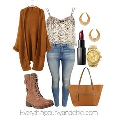 Falling in love with fall, created by ecac on Polyvore