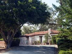 In addition to the main home, there are 10 cottages and a small office building on the property.