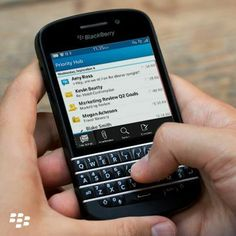 People turn to you to handle top priority items. The Priority Hub on BlackBerry 10.2 OS makes it easy by organising all your important messages, alerts and events in one place. Update now: http://blck.by/1cn1Zoo