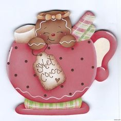 To Make Fridge Magnet Gift Ideas Printer Projects Jewelry Gingerbread Crafts, Gingerbread Decorations, Christmas Gingerbread, Christmas Decorations, Christmas Clipart, Christmas Printables, Christmas Makes, Christmas Crafts, Ginger Cookies